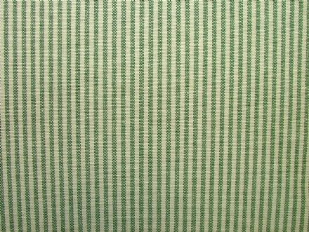Prestigious Textiles Christmas D Green Ticking Curtain / Soft Furnishing Fabric